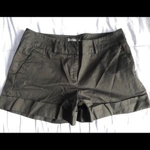 New York & Co. Woman's Black Shorts
